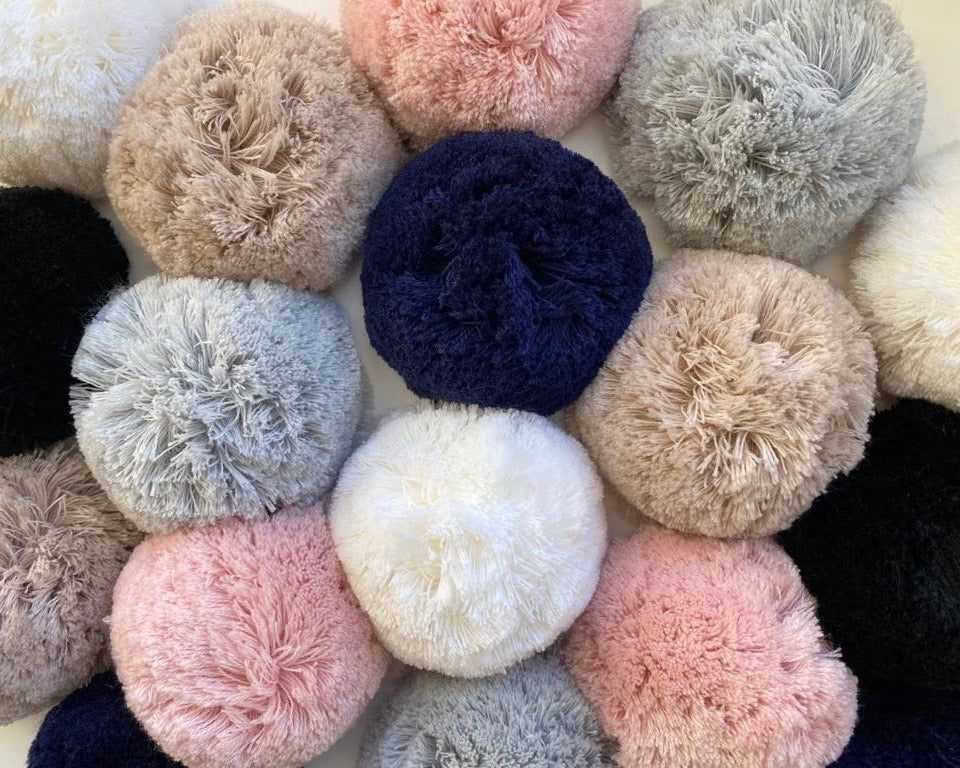 Knit Pompom Collection