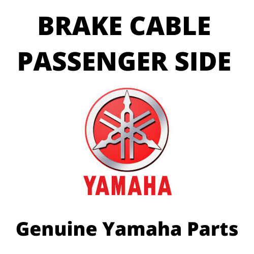 Brake Cable Passenger Side