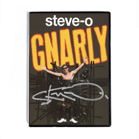 AUTOGRAPHED GNARLY DVD