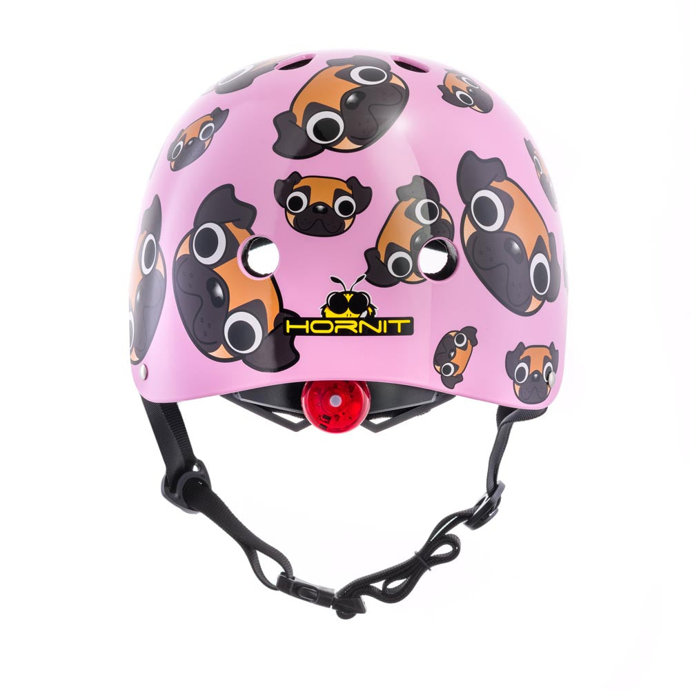 Pug Puppies Helmet