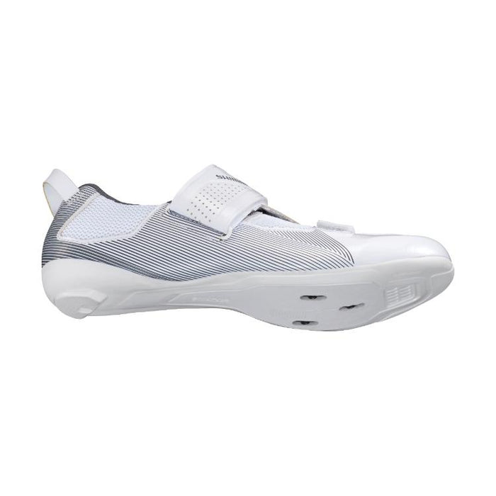 Shimano SH-TR5 Men's Triathlon Shoe - White