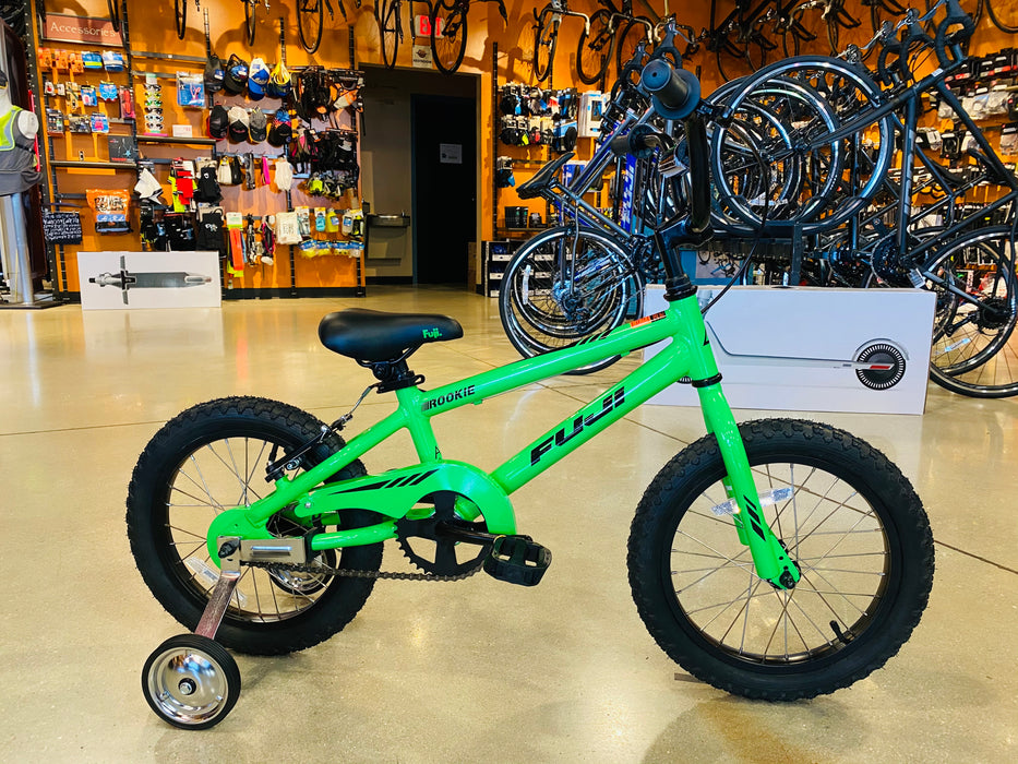 Fuji Rookie 16 - Green Bike Kids 2021