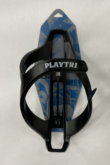 Playtri Plastic Water Bottle Cage Black