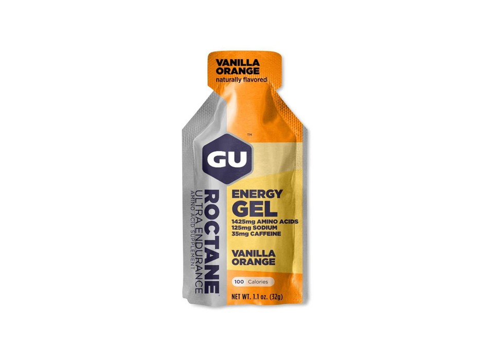 GU Energy Gel Box of 24 - Roctane Vanilla Orange