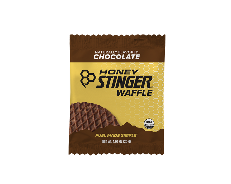 Honey Stinger Waffles Box of 16 - Chocolate