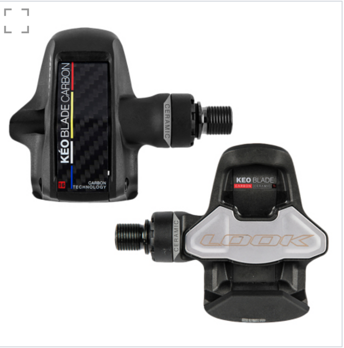 Look Cycle Keo Blade Carbon Ceramic Road Pedals