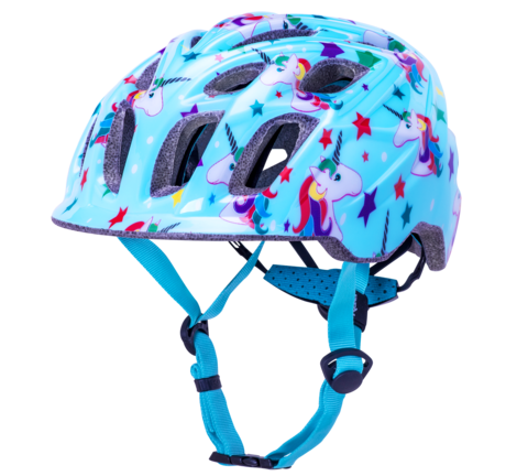 Kali Chakra Child Helmet- Unicorn Blue