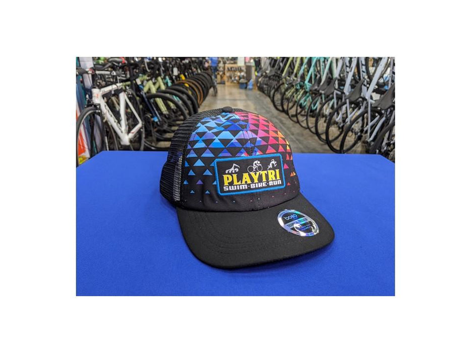 Playtri Trucker Hat Fun Colors