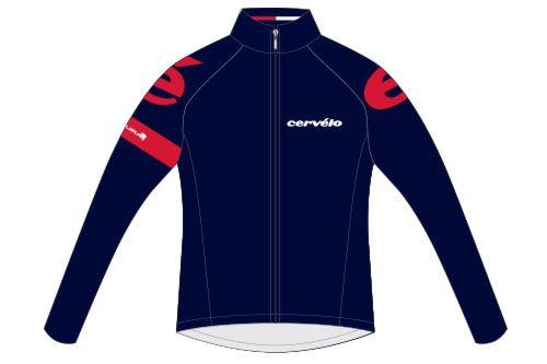 Cervélo Men's Roubaix Jacket Navy Blue