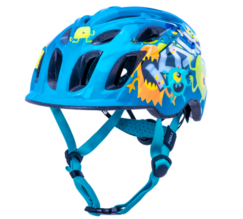Kali Chakra Child Helmet- Monsters Blue
