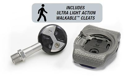 Speedplay Ultralight Action Chrome-Moly Pedals W/ Walkable Cleats