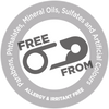 Safety Pin Seal- Free From Parabens, Mineral Oil, Sulfates, Allergens and Irritants.
