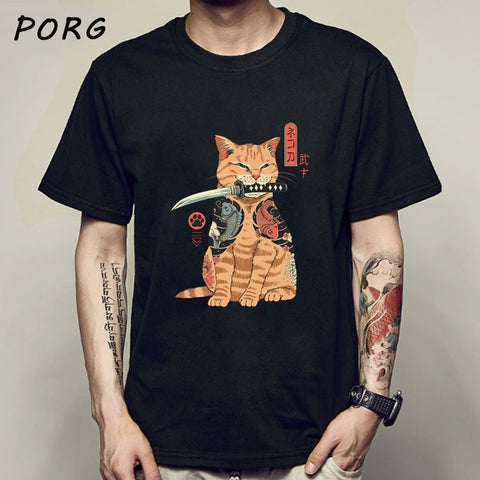 Japanese Cat Tees