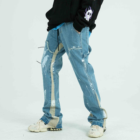 Distressed Hip Hop Harajuku Jeans