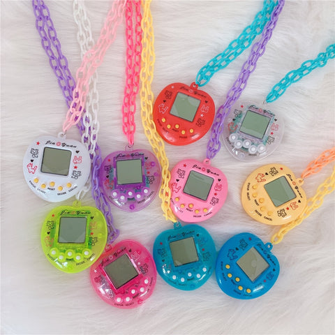 Y2K Electronic Pet game chain