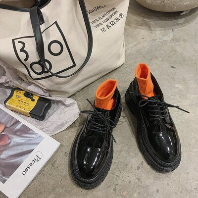 Women's Harajuku Platform Dress Shoes