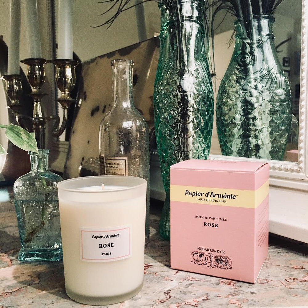 LA ROSE Candle - Normcore Fragrance