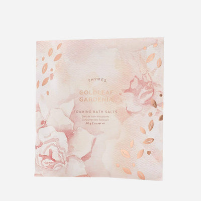 Goldleaf Gardenia Foaming Bath Salts - Normcore Fragrance