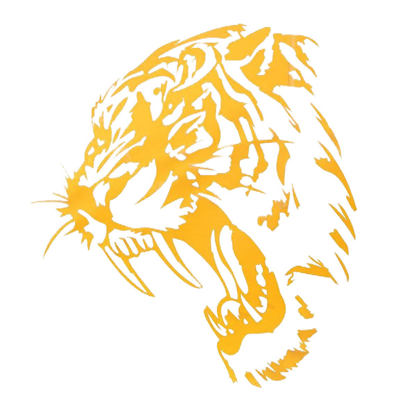 Tiger Car Decal Automobile Truck Motorcycle Sticker - skulldaze