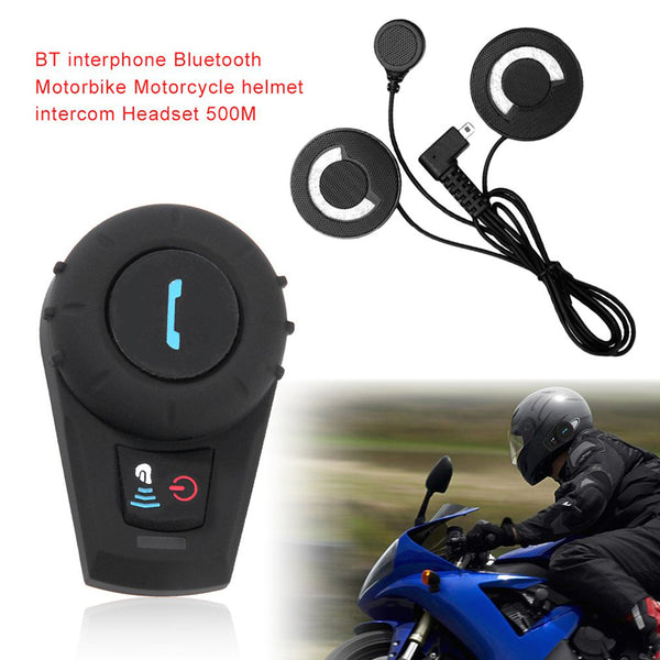 Bluetooth Motorcycle Helmet Headset - skulldaze