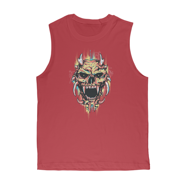 Pastel Skull Classic Adult Muscle Top - skulldaze