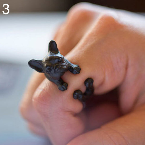 Terrier Bull Dog Ring - skulldaze