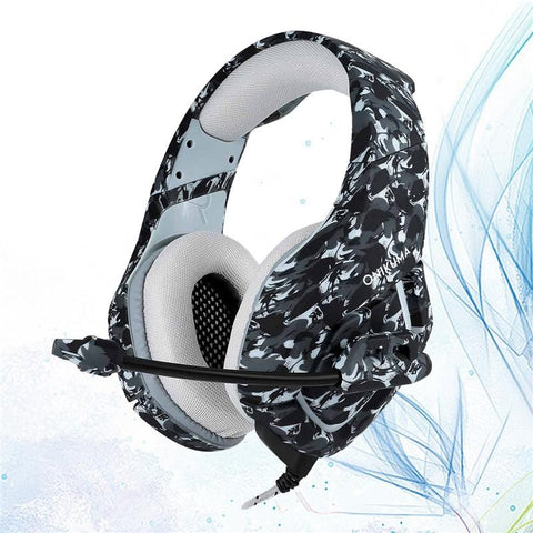 3.5mm Wired Stereo Gaming Headphone with Noise Canceling - skulldaze