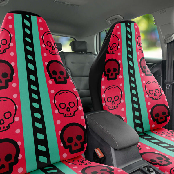 Custom Made Car Seat Covers - skulldaze