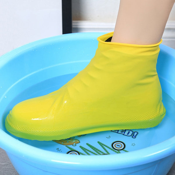Silicone Shoe Condom Puddle Protectors Waterproof Shoe Covers - skulldaze