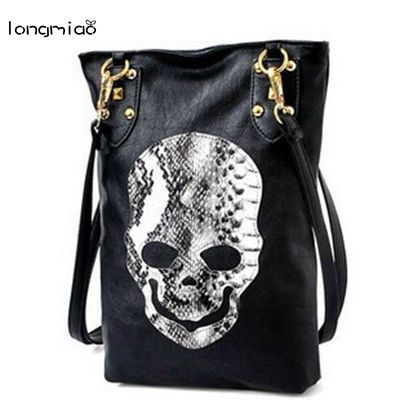 Skull Messenger Bag - skulldaze
