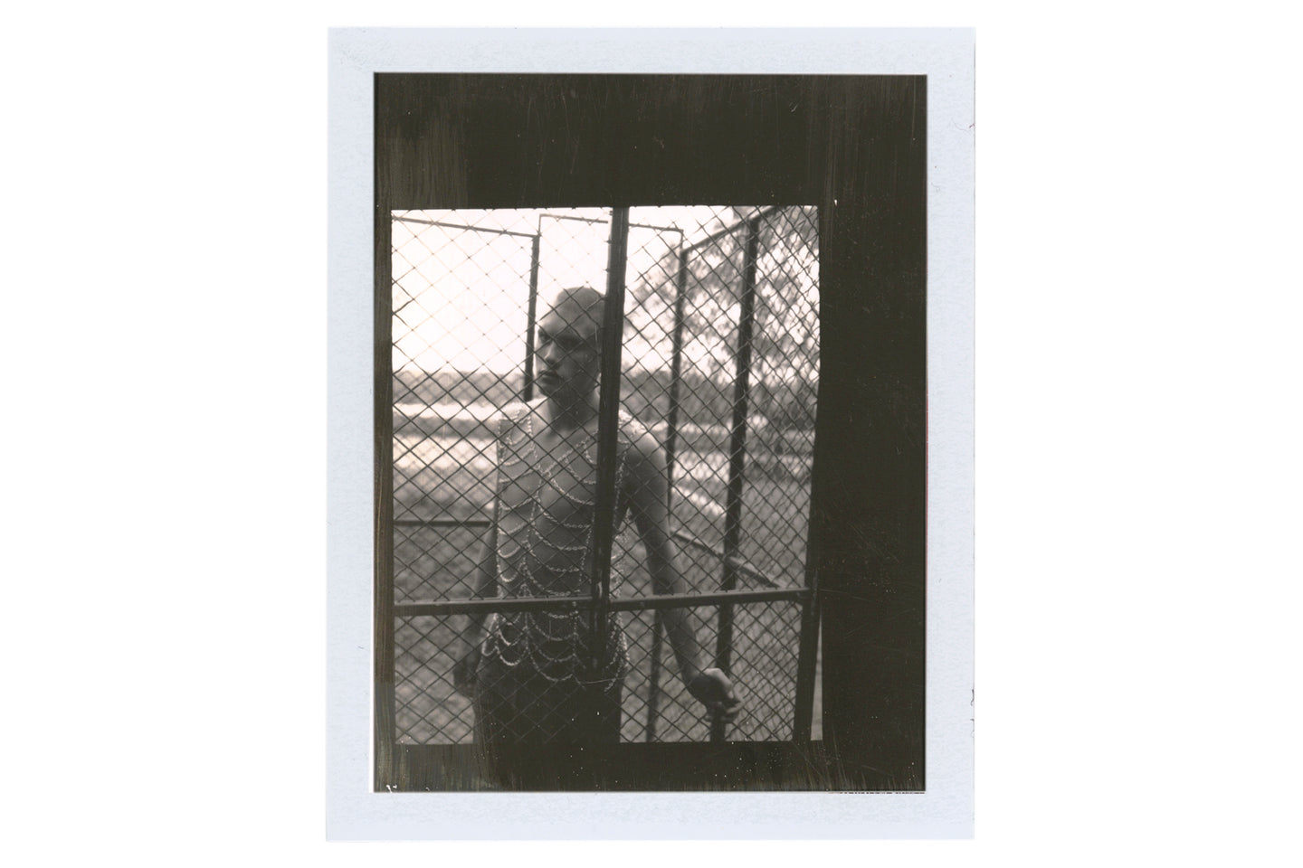 Boy in Cage, 1995