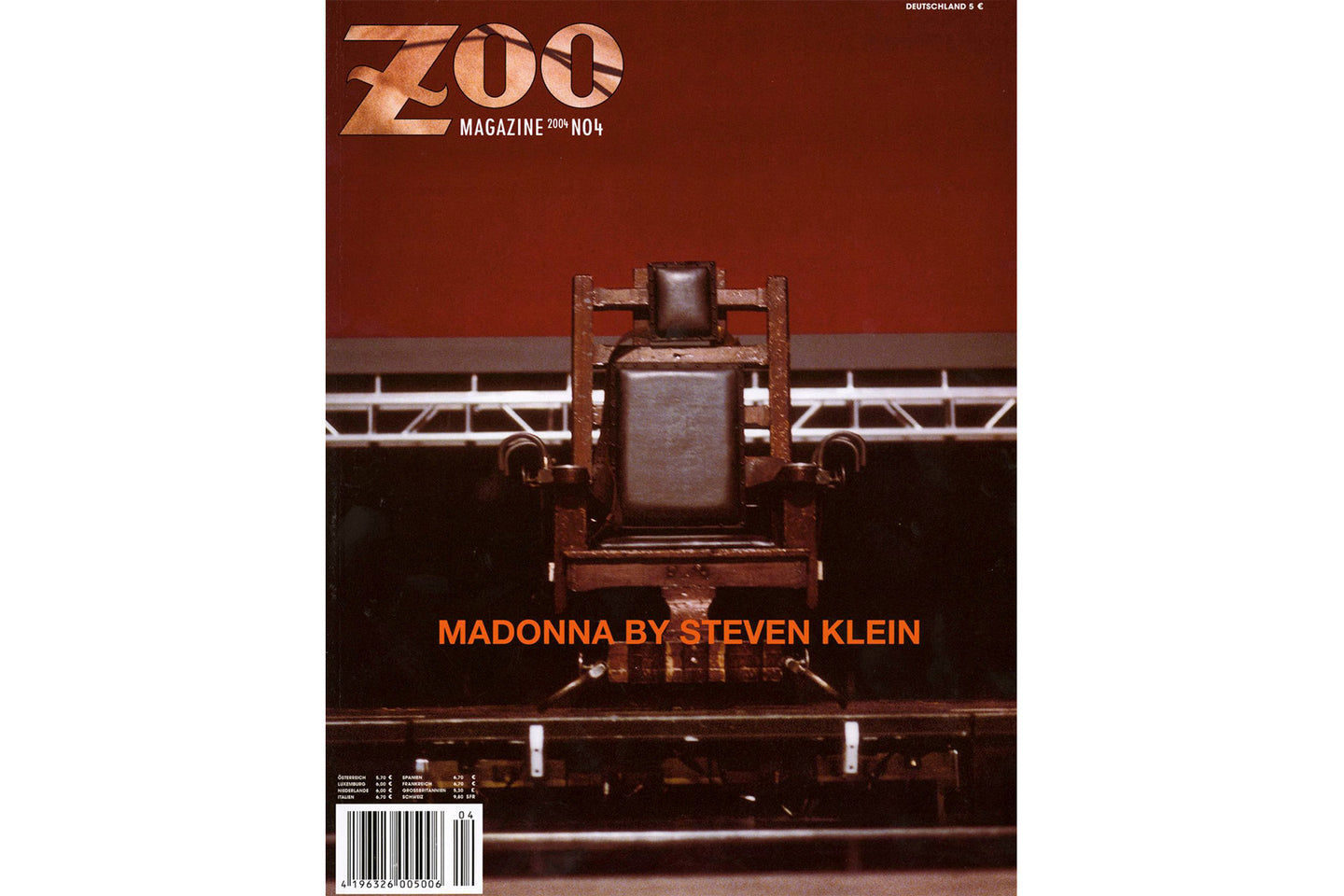 Madonna by Steven Klein, Zoo Magazine No.04 2004