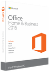 Microsoft Office 2016 Home & Business For windows Lifetime License - Digital Zone