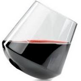 GSI Stemless Red Wine Glass