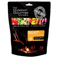 Outdoor Gourmet Freeze Dried Meal / Venison and Rice Noodle Stirfry