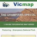 The Grampians Special Topographic Map
