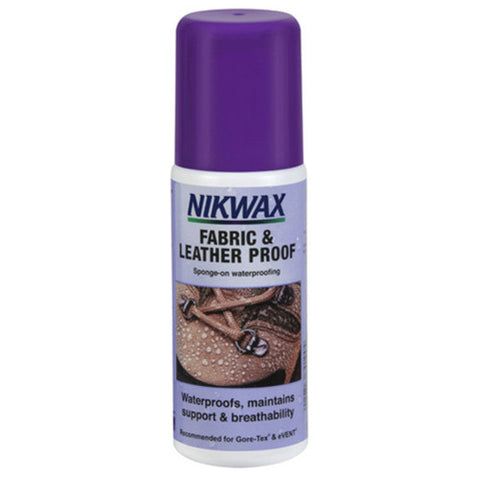 NikWax Fabric and Leather Proof 125ml