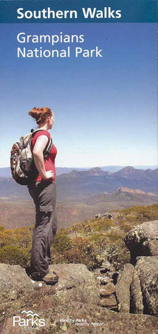 Parks Victoria Grampians Southern Walks Map