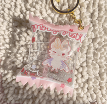 Load image into Gallery viewer, Mousemoth Candy Shaker Keychain