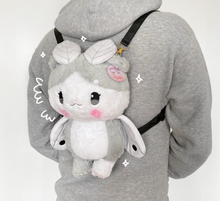 Load image into Gallery viewer, Mousemoth Plush Backpack
