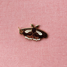 Load image into Gallery viewer, Moth Enamel Charm