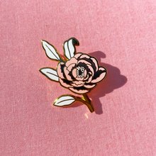 Load image into Gallery viewer, Peony Enamel Pin
