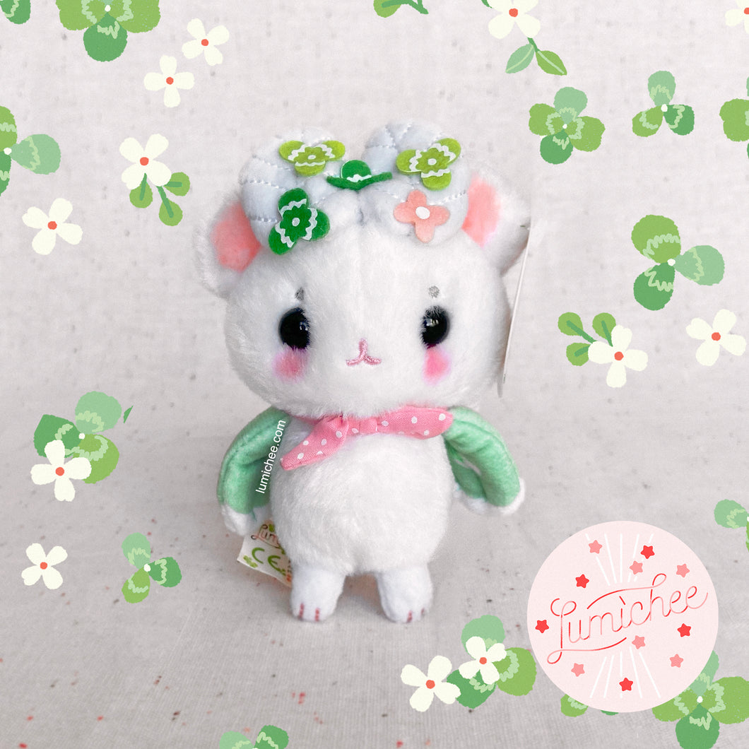 Sweet Clover Mousemoth Keychain Plush