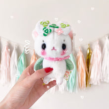 Load image into Gallery viewer, Sweet Clover Mousemoth Keychain Plush