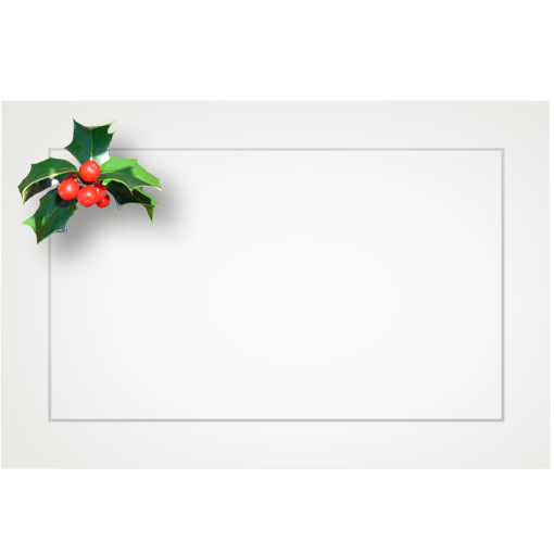 Assorted Holiday - flat cards (box of 10)