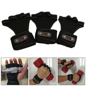 Sports Wrist Bracer Hand Palm Glove For Fitness Gym Weight Lifting Workout Dumbbell
