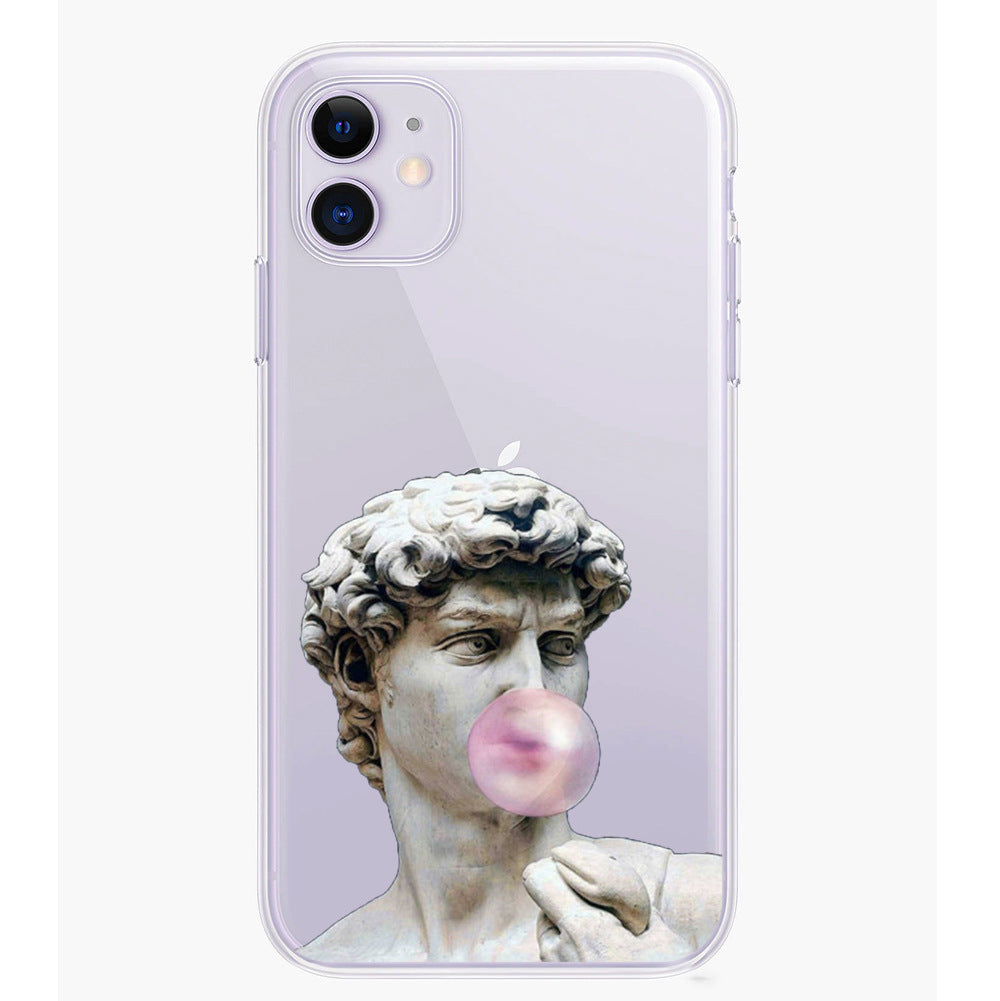 David oil painting phone case