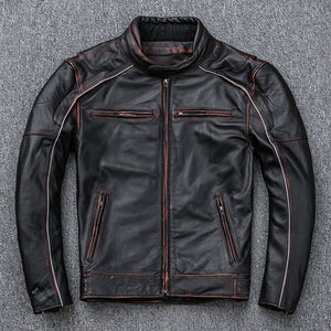 Make Old Leather Jackets And Stand-Up Motorcycle Jackets