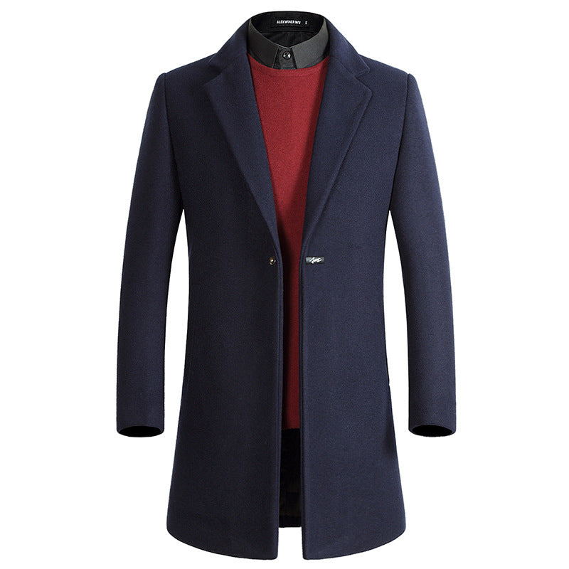 Men's Casual Thick Slim Coat