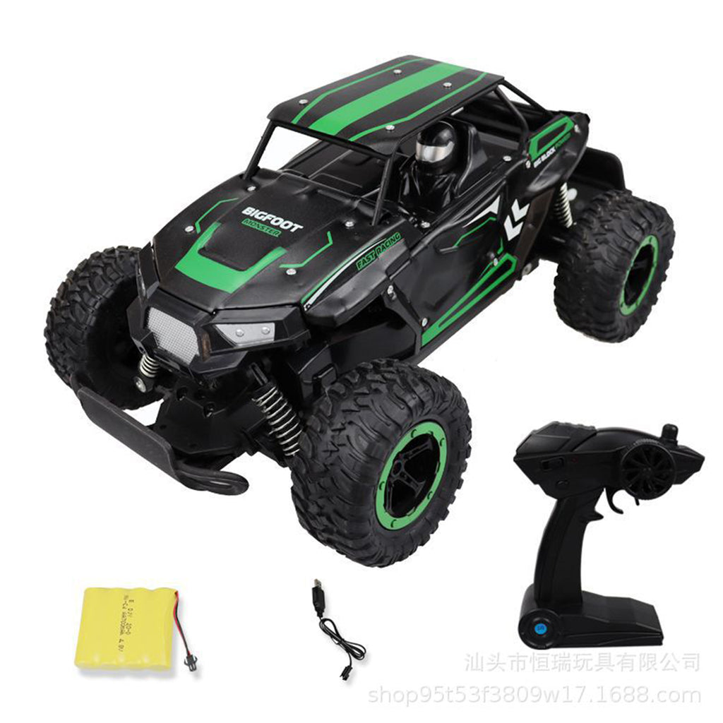1/14 2.4G Alloy High Speed RC Car Big Foot Off-road Drift Vehicle Model Indoor Outdoor Toys